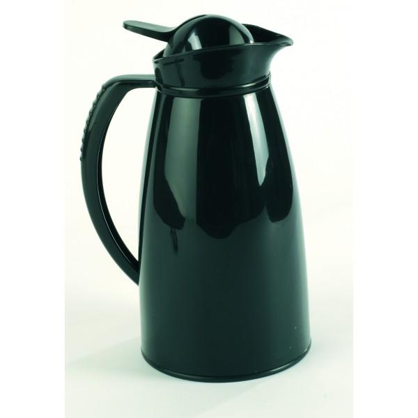 solia r union bouteille thermos noire avec bec verseur 1000 ml. Black Bedroom Furniture Sets. Home Design Ideas