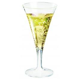 Verre à pied cocktail transparent 80 ml